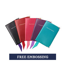 Leather Passport Covers. Leather Travel Goods from Aspinal of London