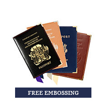 Leather Passport Covers. Luxury Travel Accessories from Aspinal of London