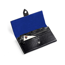 Leather Travel Wallets. Travel Accessories from Aspinal of London