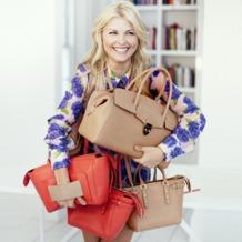 Berkeley Bag in Deer Saffiano & Smooth Deer. Handbags & Clutches from Aspinal of London