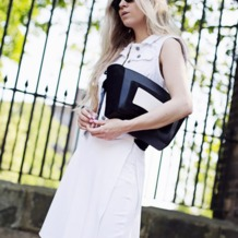 Marylebone Oversized Day Clutch in Berry Lizard. Evening & Clutches from Aspinal of London