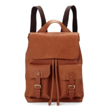 Shadow Rucksack in Smooth Tan. Mens Messenger Bags from Aspinal of London