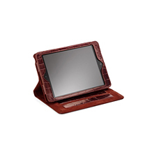 iPad Mini Leather Stand Up Case. Travel Accessories from Aspinal of London