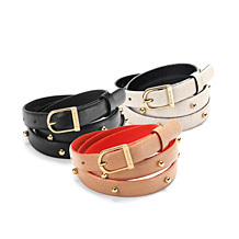 Ladies Leather Belts. Clothing Accessories from Aspinal of London