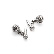 Sterling Silver Sporting Cufflinks. Sporting Gifts & Books from Aspinal of London