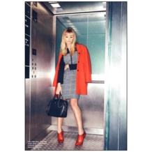 Sofia Bag in Black Saffiano & Black Nubuck. Handbags & Clutches from Aspinal of London