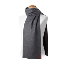 Aspinal Unisex Superior Cashmere Scarf in Grey. Ladies Cashmere Scarves from Aspinal of London