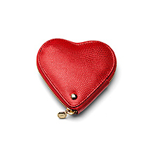 Heart Coin Purse. Ladies Wallets & Purses from Aspinal of London
