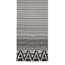 Long 'A' Scarf in Graphite Cashmere Blend. Ladies Cashmere Scarves from Aspinal of London