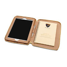 Marylebone iPad Air Case with Crossbody Strap. Travel Accessories from Aspinal of London