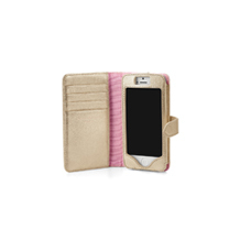 Marylebone iPhone 5 Wallet Case. Leather Travel Goods from Aspinal of London