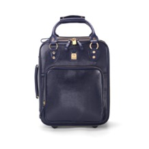 Candy Case in Navy Lizard. Mens Travel Bags from Aspinal of London