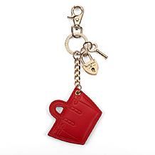 Marylebone Tote Handbag Charm & Keyring. Key Rings & Charms from Aspinal of London