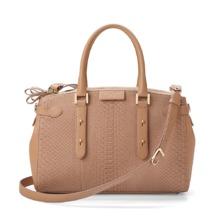 Brook Street Bag in Deer Nubuck Python. Handbags & Clutches from Aspinal of London