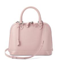 Hepburn Bag in Powder Pink Nappa. Handbags & Clutches from Aspinal of London