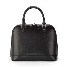 Hepburn Bag in Black Lizard. Handbags & Clutches from Aspinal of London