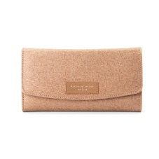 Brook Street Purse Wallet in Deer Saffiano