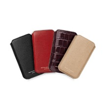 iPhone 6 Case. Leather Travel Goods from Aspinal of London