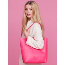 Essential Tote in Smooth Neon Pink. Ladies Business Bags from Aspinal of London