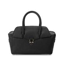 Mini Berkeley Bag in Black Pebble. Handbags & Clutches from Aspinal of London
