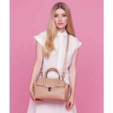 Mini Berkeley Bag in Deer Saffiano. Handbags & Clutches from Aspinal of London