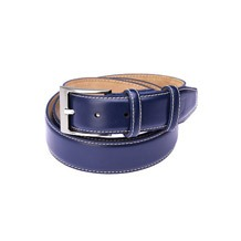 Blue Leather Belts. Mens Leather Belts from Aspinal of London