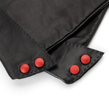 Opera Glove Buttons in Red. Outlet from Aspinal of London