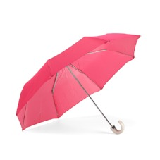 Ladies Compact Umbrella in Neon Pink. Umbrellas from Aspinal of London