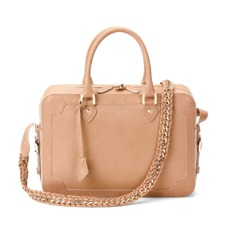 Sofia Bag in Deer Saffiano & Smooth Deer. Handbags & Clutches from Aspinal of London