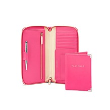 Zipped Travel Wallet with Passport Cover. Ladies Wallets & Purses from Aspinal of London