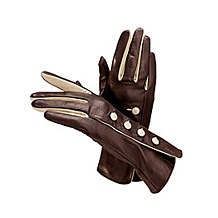 Unlined Button Gloves. Ladies Leather Gloves from Aspinal of London