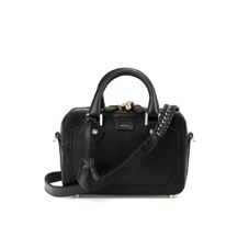 Mini Sofia Bag in Smooth Black. Evening & Clutches from Aspinal of London