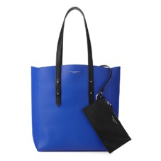Aspinal Essential Tote in Smooth Cobalt Blue. Ladies Business Bags from Aspinal of London