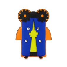 Cook The Cyber Bug iPhone 6 Sleeve. Outlet from Aspinal of London
