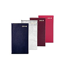 Slim Pocket Leather Diary. Leather Diaries from Aspinal of London