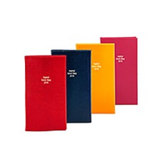 The Aspinal Social Diary. Leather Diaries from Aspinal of London