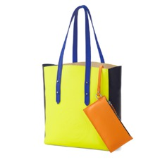 The être cécile Essential Tote in Chartreuse Yellow. Handbags & Clutches from Aspinal of London