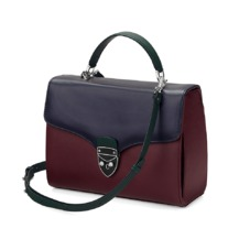 The être cécile Mayfair Bag in Burgundy. Handbags & Clutches from Aspinal of London