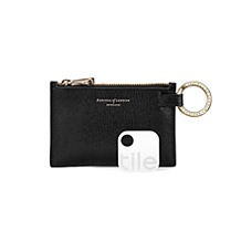 Tile Tracker & Keyring Pouch. Mens Leather Wallets from Aspinal of London