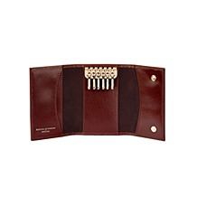 Leather Key Holder Wallet. Mens Leather Wallets from Aspinal of London
