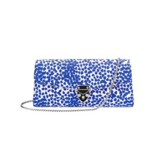 Aspinal x Beulah Blue Heart Clutch in Cobalt Blue. Handbags & Clutches from Aspinal of London