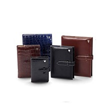 Luxury Leather Organisers. Leather Diaries from Aspinal of London
