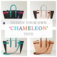 The Chameleon Tote. Ladies Collection from Aspinal of London