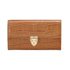 Mayfair Purse in Deep Shine Vintage Tan Croc