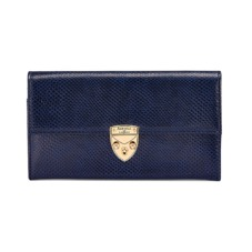 Mayfair Purse in Midnight Blue Lizard