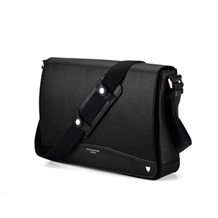 Anderson Large Messenger Bag . Business Cases from Aspinal of London
