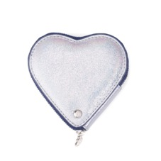 Heart Coin Purse in Smooth Shooting Star
