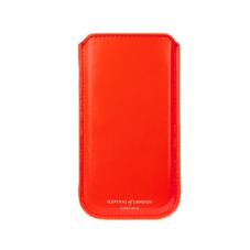 iPhone 6 / 7 Leather Sleeve in Flame Red Polish