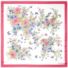 Bouquet of Flowers Silk Scarf in Blossom