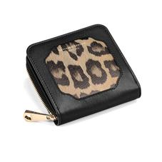 Marylebone Mini Purse in Digital Leopard Print